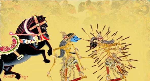 bahkan anak lelaki Duryudana  pun tewas ketika nekat hendak melawan sesama senapati muda.