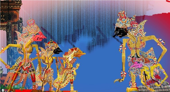 …suhé onten kalih, hêêh. Ingkang setunggal Prabu Sri Bêthara Krêsna. Kaping kalihé, wong élék, Sêmar…..