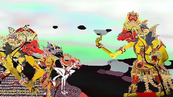 Dasamuka sru bramatya - jaja bang mawinga wêngis - muka bang gurnitèng swara - hèh-hèh dhik wanara jisjis - pêksa anglêluwihi - piyangkuhmu mudha punggung - duta tar parikrama - nistha dama ...
