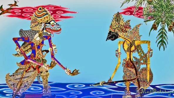 kunêng ture Hyang Baruna | jawataning kang jaladri | trustha Sri Ramawijaya | sinêmbah pinintan urip | wlasa isining warih | lir sinapon dukanipun | mênthang sanjata toya | bramastra kang dèn sampuni | wus lumêpas tibèng jaladri we astra || | sirêp wau kang bramastra | katiban sanjata warih
