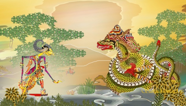 sarta matur lamun arsa | angulati ing Dyah Brahmaniari | Hyang Anantaboga muwus | Rasikadi wruhanta | Dyah Brahmaniari kang nyingitkên ingsun | arsa ngong dhaubkên lawan | putrèngsun Sang Hyang Basuki ||